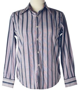 Graham & Spencer Striped Longsleeve Button Down Shirt Purple