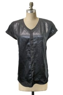 Greylin Shiny Top Black
