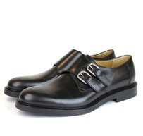 Gucci $735 New Authentic Gucci Men's Leather Dress Shoes W/double Buckle Gucci 13.5 / Us 14.5 322299 1000