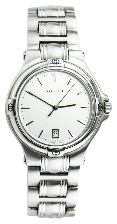 gucci 9040m. gucci * 9040m stainless steel ladies watch 9040m