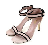 Gucci Suede Sandal Strap 311382 Pink Sandals