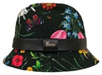 Gucci Authentic Gucci Floral Bucket Hat
