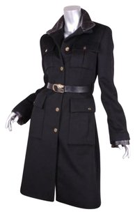 Gucci Womens Classic Woolcashmere Belted Jacket 426 Coat