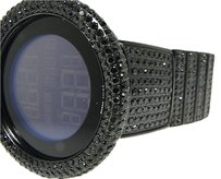 Gucci Black Diamond Black I Gucci Digital Diamond Watch Ct