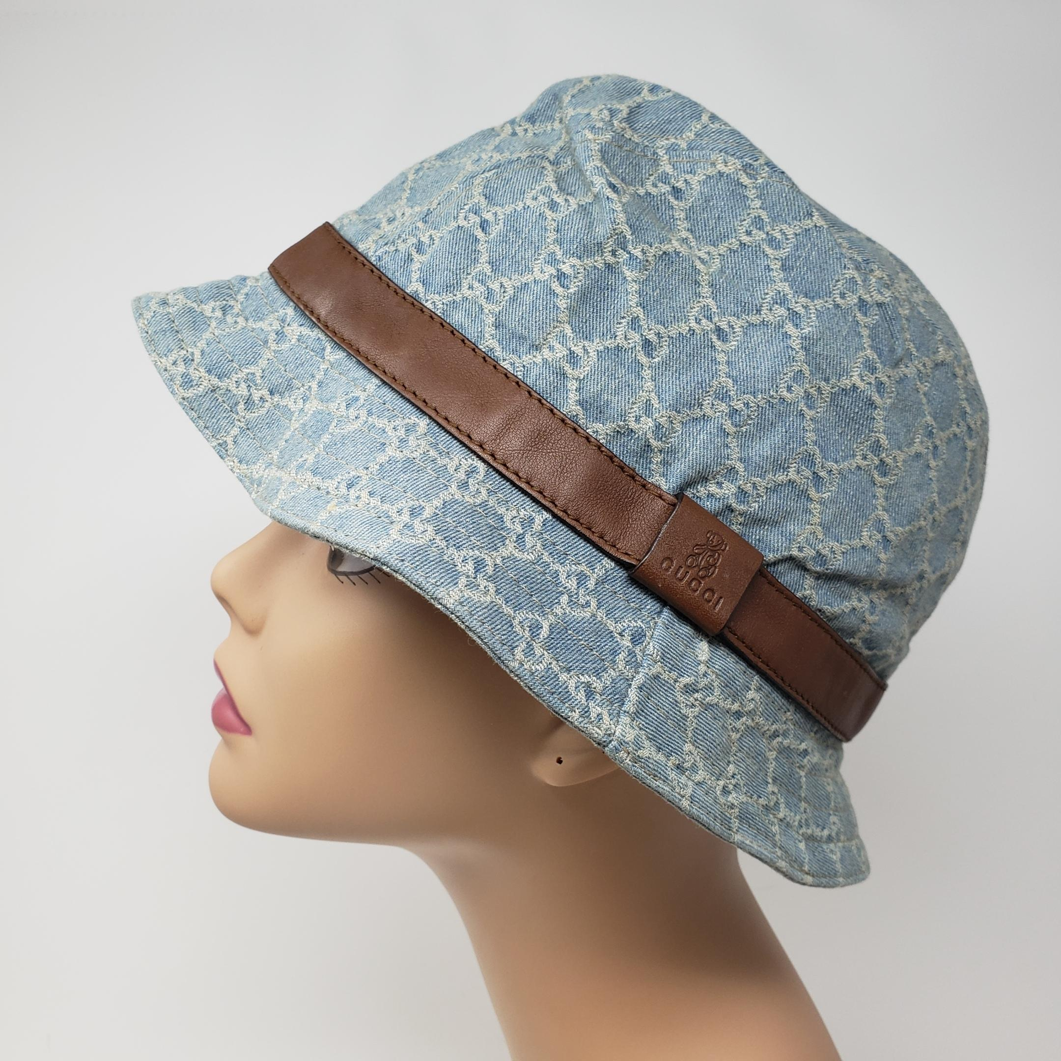 a8e4f6a3c27 Gucci blue brown web woven bucket hat tradesy jpg 960x960 Gucci bucket hat  blue