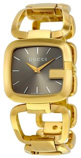Gucci Brown Dial Gold-tone Ladies Watch