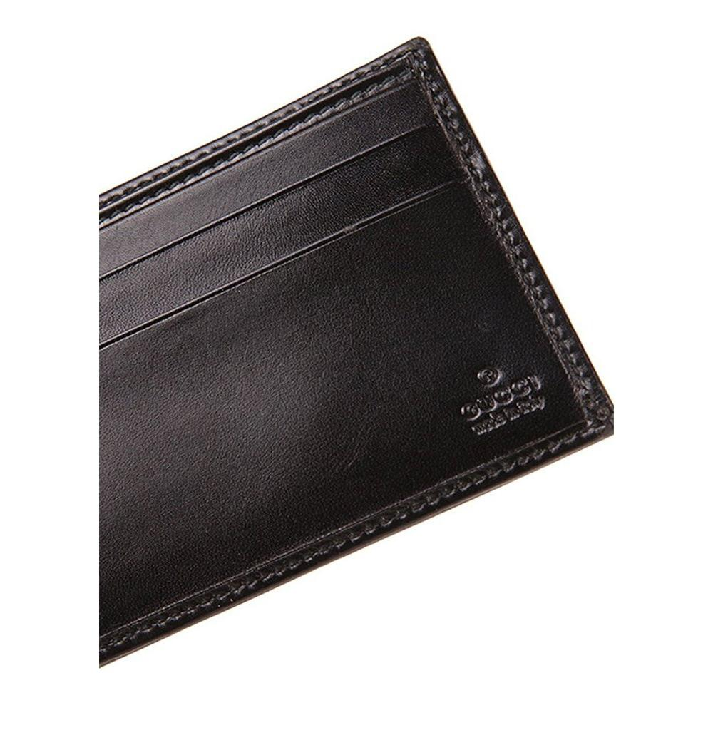 135949b9a209 Gucci brown mens dark leather bifold wallet jpg 937x960 Gucci wallet with  clip