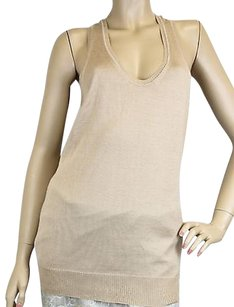 Gucci Womens Woolcashmere Top Tan
