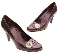 Gucci Patent Leather Purple Pumps
