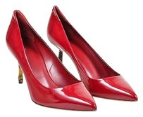 Gucci Berry Patent Leather Red Pumps
