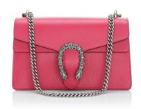 Gucci Dionysus Small Leather Pink Shoulder Bag