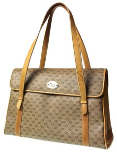 Gucci Gg Pattern Hand Tote in Bieges