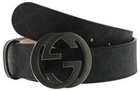 Gucci GG Supreme belt with G buckle multiple sizes