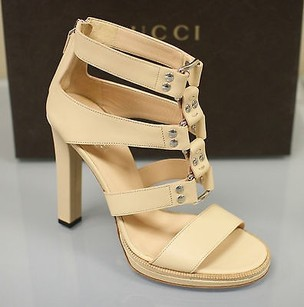 Gucci Gladiator Leather Platforms