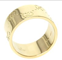 Gucci GUCCI 18K Yellow Gold Ring US Ring Size: 4.75