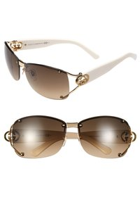 Gucci GUCCI 62MM OPEN TEMPLE SPECIAL FIT RIMLESS SUNGLASSES
