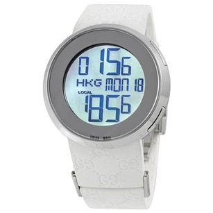 Gucci Gucci Digital White Watch