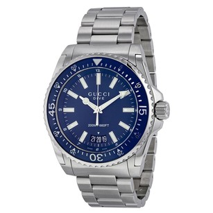 Gucci Gucci Dive Blue Dial Mens Watch