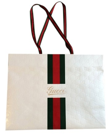 Gucci Gucci Embossed Signature Shopping Bag
