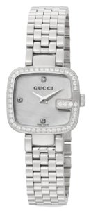 Gucci Gucci G-Gucci 0.63 TCW Diamond & Stainless Steel Bracelet Watch