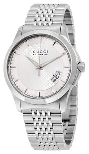 Gucci GUCCI G-Timeless Silver Dial Stainless Steel Automatic Men's Watch GCYA126417