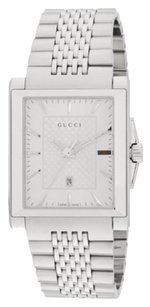 Gucci Gucci G-Timeless Stainless Steel Watch Swiss quartz movement