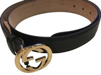 Gucci women belt small buckle AuthenticGucci Gold Tone Hardware made In Italy