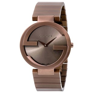 Gucci Gucci Interlocking Brown Dial Mens Watch