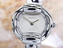 Gucci Gucci Ladies Fashionable Swiss Made Dress Watch Ref 1400l C2000 Tk12