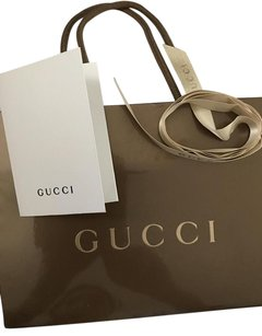Gucci Gucci Shopping Bag with Gucci Ribbon and Receipt Holder