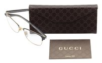 Gucci Gucci Women's Blue Frame/Transparent Lens Square 54mm Glasses