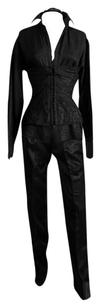 Gucci Kate's Rare & Iconic Tom Ford Gucci SS 2001 Silk Corseted Blouse & Tuxedo Pants!