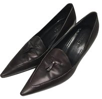 Gucci Chocolate Leather Brown Pumps