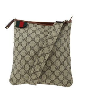 Gucci Leather Brown Cross Body Bag