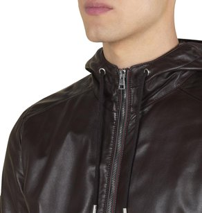 Gucci Leather Brown Leather Jacket