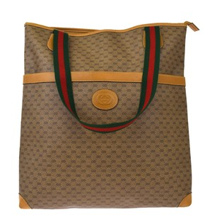 Gucci Leather Pvc Shoulder Bag