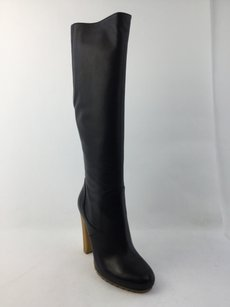 Gucci Leather Stivale Pelle Luxor Black Boots