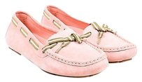 Gucci Suede Moccasins Pink Flats