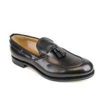 Gucci Mens Leather Dress Shoes Loafer Wtassel 309016 1000