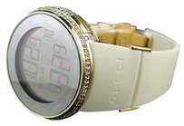 Gucci Mens Grammy Edition I Gucci Digital Yellow Diamond Watch Ya114216