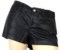 Gucci Metallic Casual Shorts Black