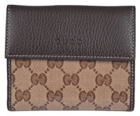 Gucci NEW Gucci Women's Crystal GG Guccissima French Bifold Wallet