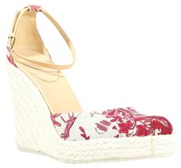 Gucci off white/red Wedges