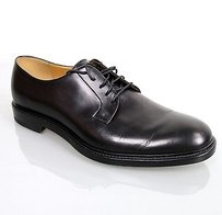 Gucci Mens Leather Lace-up Oxford Black 295618 1000