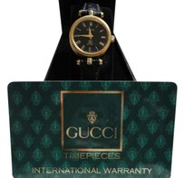 Gucci Petite 1980's Women's Gucci Watch Model 2000L Swiss Made Accurate Time Comes with a New Black Leather Band