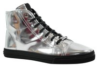 Gucci 338939 Womens Sneakers Silver Athletic