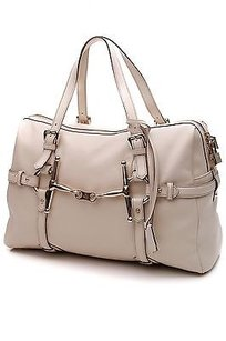 Gucci Leather 85th Satchel in Ivory