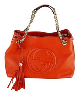 Gucci Soho Womens Leather Shoulder Bag