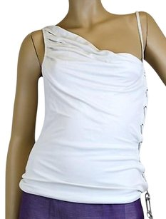 Gucci Sleeveless Design Top Off White