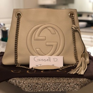 Gucci Satchel in Cream Color